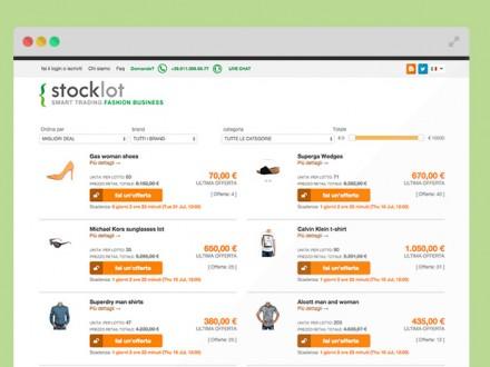 Sito web Stocklot