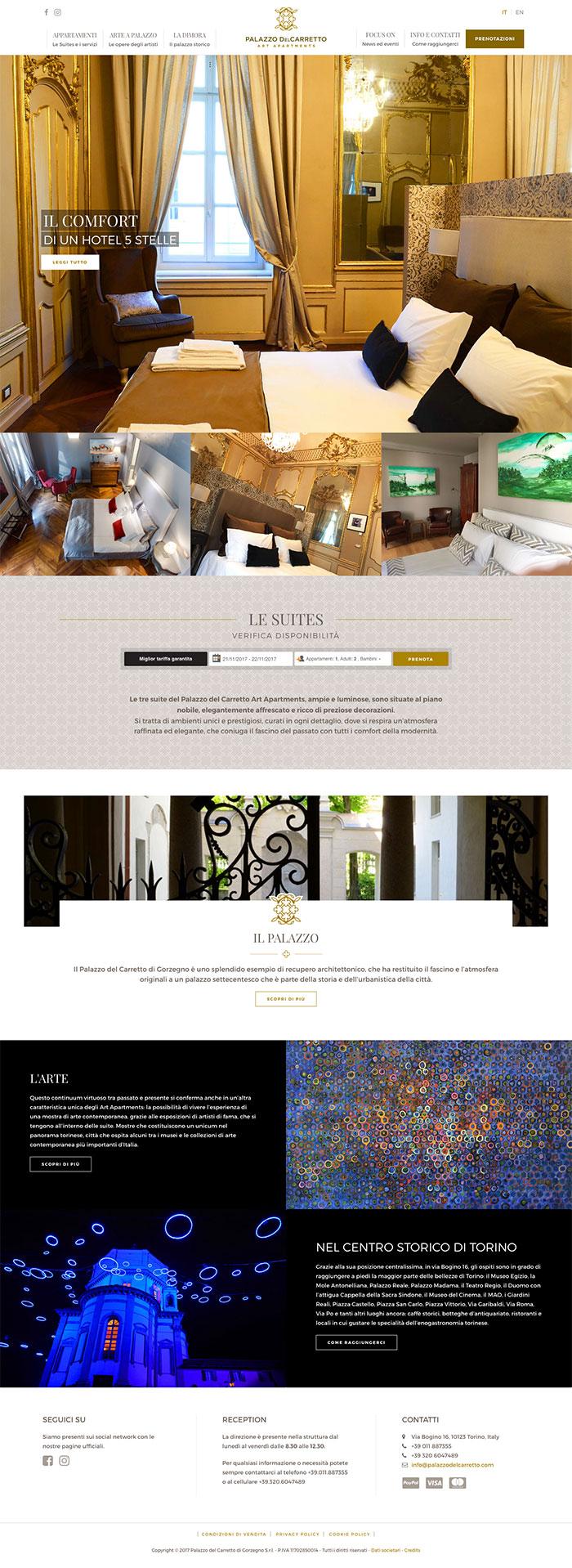 Palazzo del Carretto Art Apartment-0