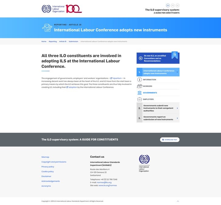 The ILO supervisory system-2
